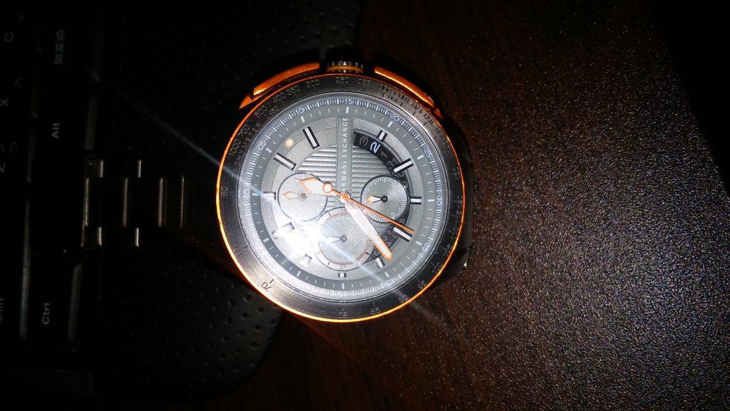 修理後の時計
